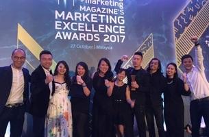 TBWA\Kuala Lumpur Most Awarded Agency at Marketing Excellence Awards 2017