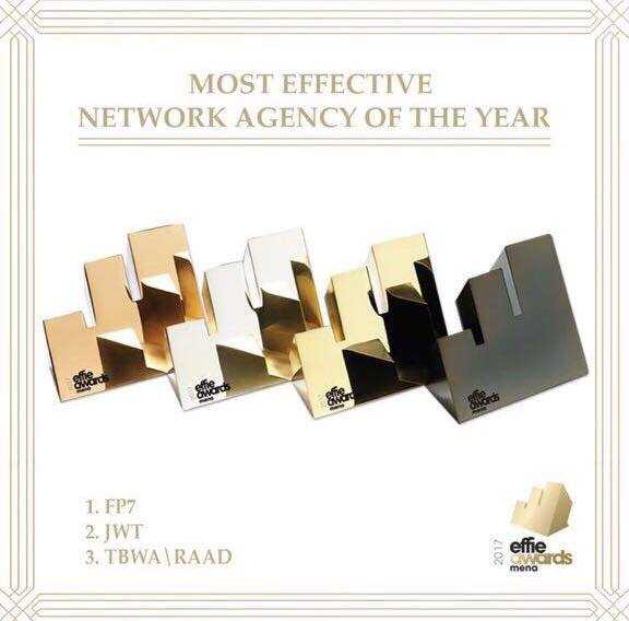 TBWA\RAAD Wins at MENA Effie Awards