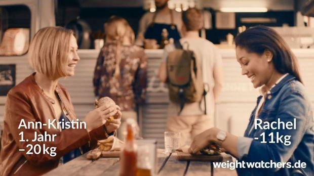 Weight Watchers celebrates the slimming success of its customers at the start of the year