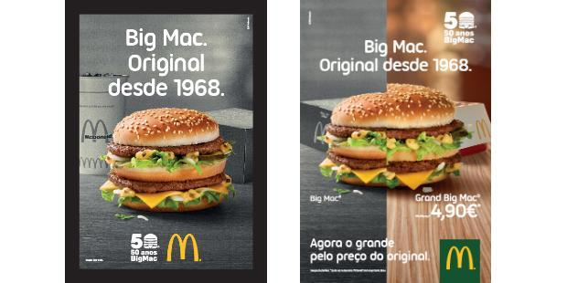 McDonald's celebrates 50 years of Big Mac