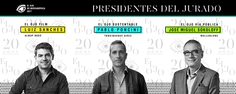 "TBWA\Buenos Aires Pablo Poncini selected El Ojo Festival Jury President in ""For Good"" category"