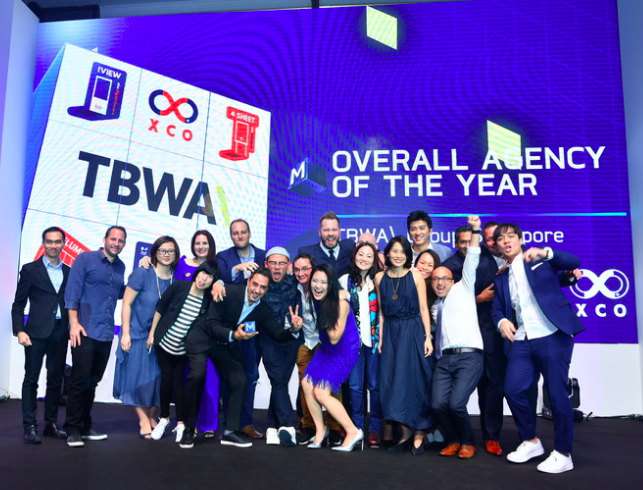 TBWA\Group Singapore crowned Agency of the Year 2018