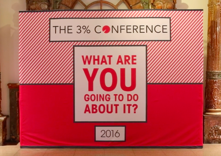 Backslash attends the 3% Conference