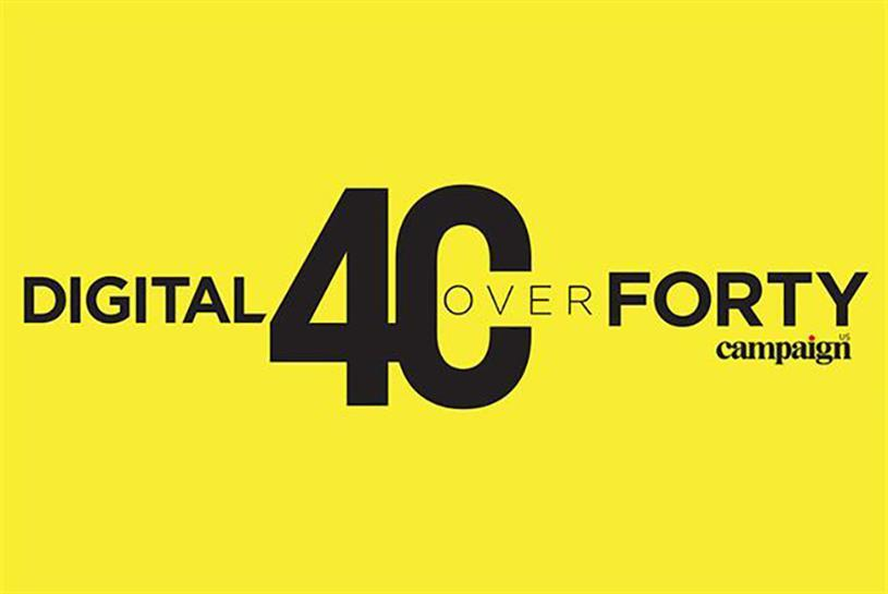 Campaign US' 2017 Digital 40 Over 40