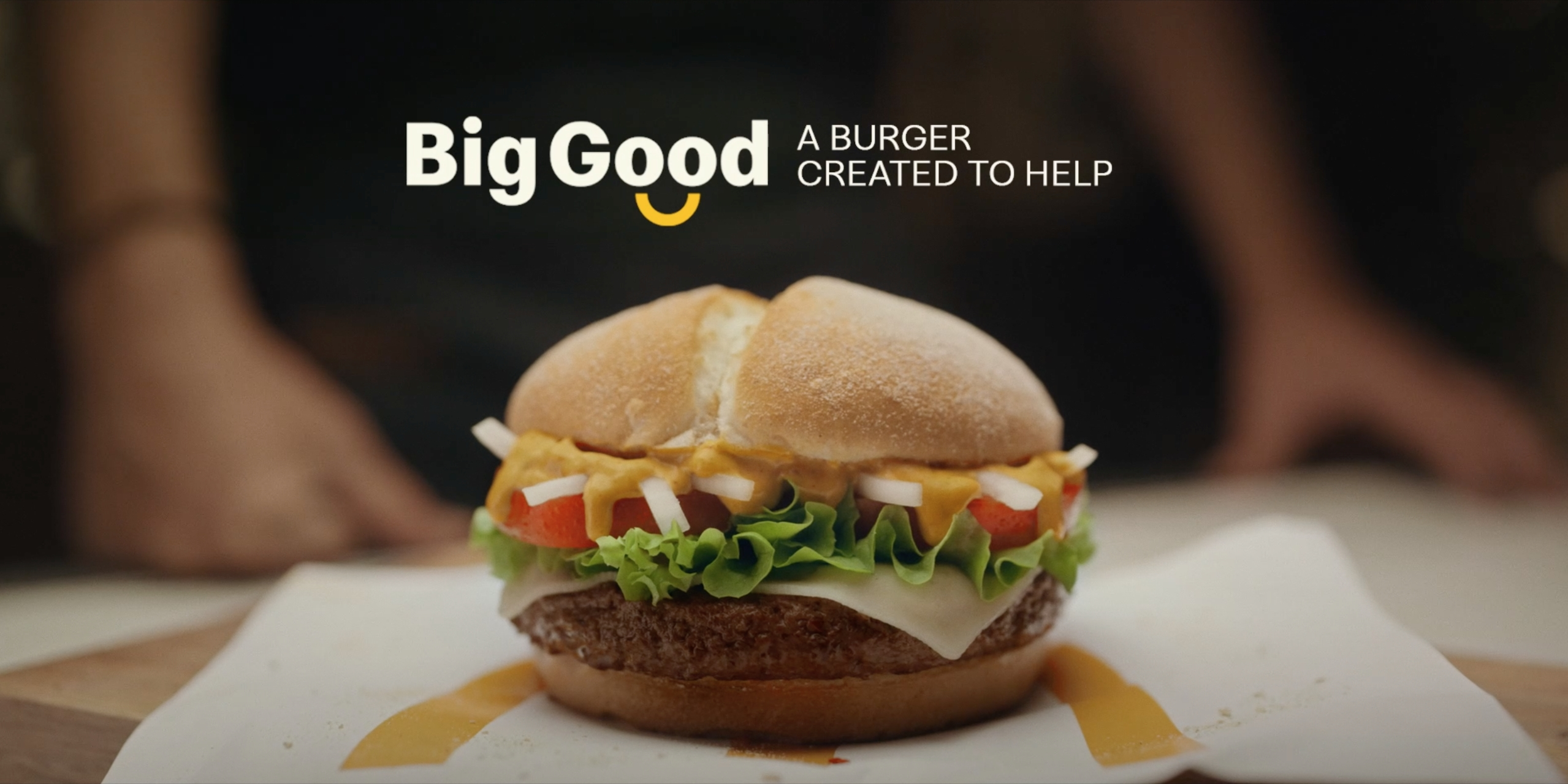 McDonald's Made the 'Big Good' Burger to Help Covid-Stricken Farms in Spain