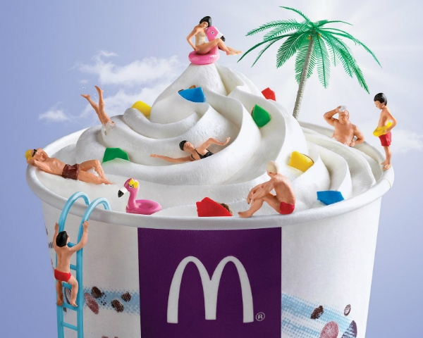 McDonald's Easy Breezy Ice Cream Prints Serve You A 'Taste Of Summer'