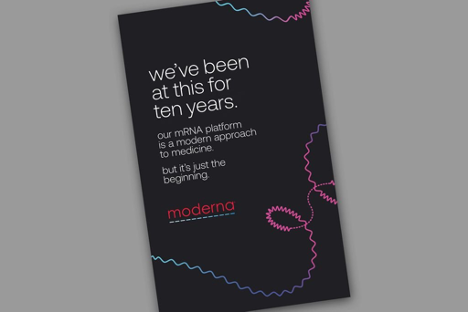 Moderna Delivers First-Ever Consumer Ad Campaign From TBWA\Chiat\Day