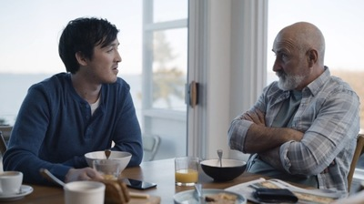 Dad and son discuss love and life in the latest campaign for ANZ KiwiSaver via TBWA\Auckland