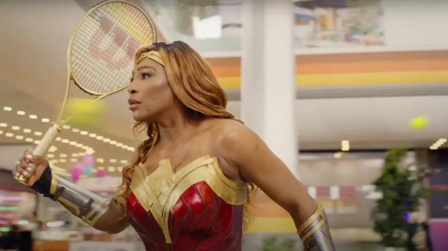 Serena Williams Becomes Wonder Woman in DirecTV Stream's Fun Mashup Ad
