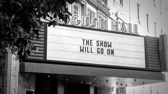 Live Nation's Marquee Messages Deliver Hope for Venues and Crew Workers Affected by the Pandemic