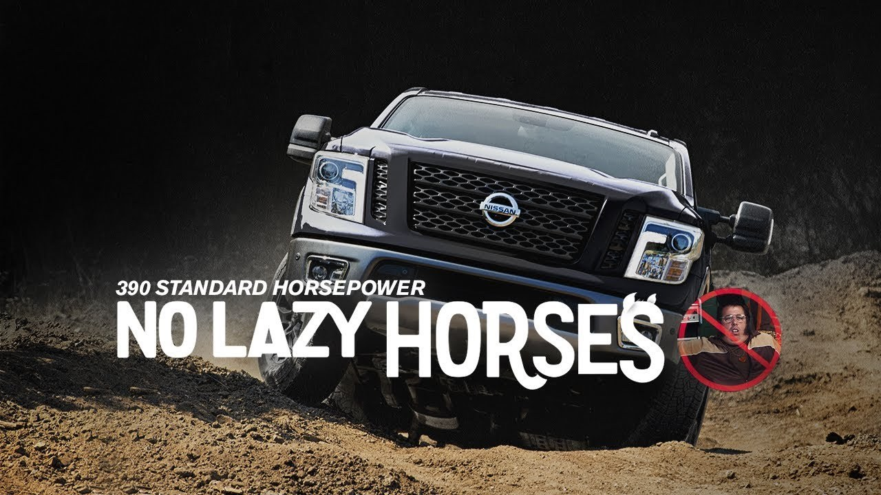 Nissan Targets Younger Truck Drivers With A Goofy Ad Featuring Mini-Dude 'Horses'
