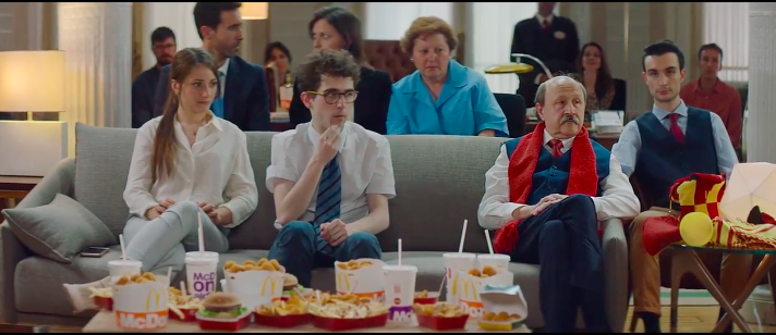 McDonald's Burgers and Fries (Not Booze) Make a Sad World Cup Party a Blast