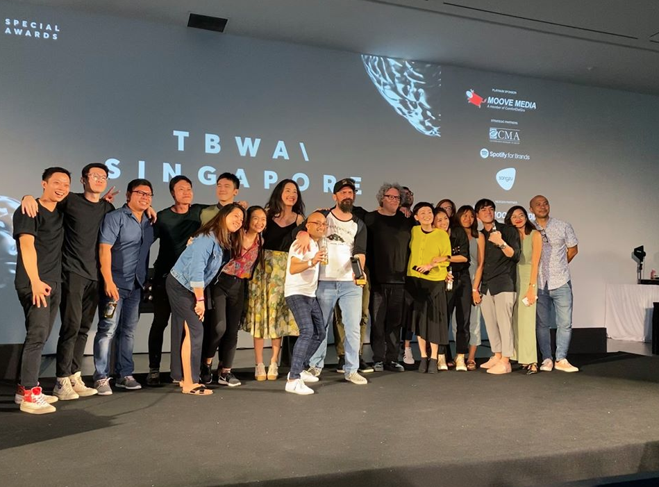 TBWA\Singapore Wins Agency of the Year and Digital Agency of the Year at Creative Circle Awards
