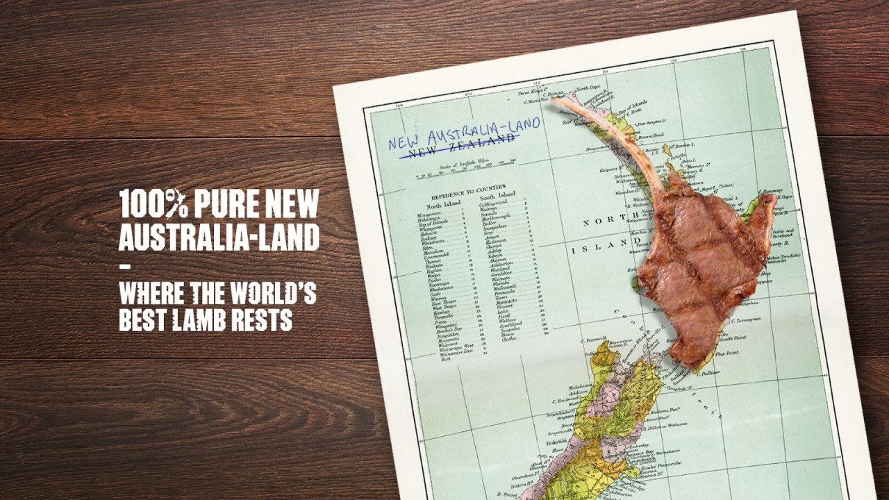 Tourism New Zealand Takes Cheeky Swipe at MLA's New Australia-Land Campaign