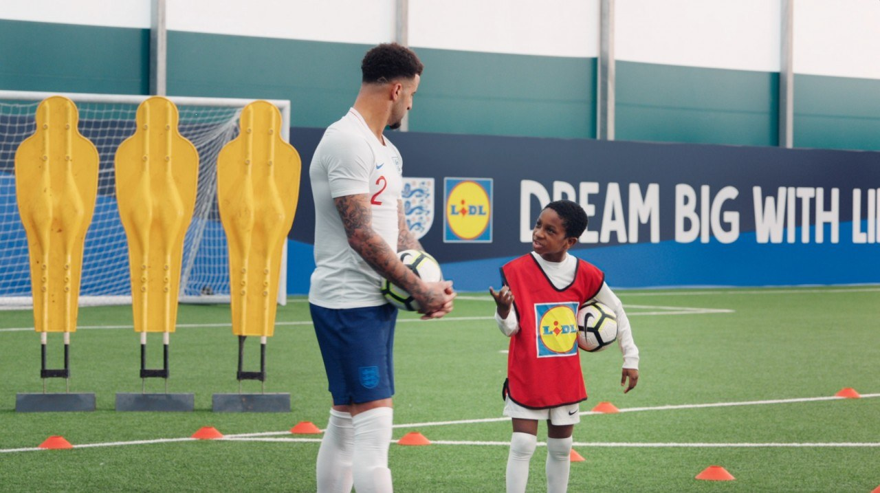 LIDL: Dream Big With LIDL By TBWA\London, CSM Sports And Entertainment, Starcom Worldwide, Goat & 360I